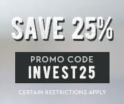 Save with promo code INVEST25